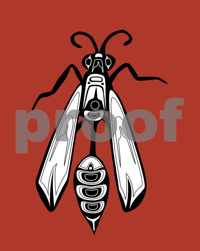 Wasp: Pacific Northwest Indian Art by John Longfellow