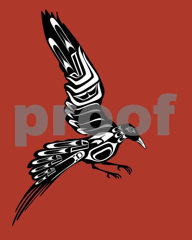 Landing Bird: Pacific Northwest Indian Art by John Longfellow