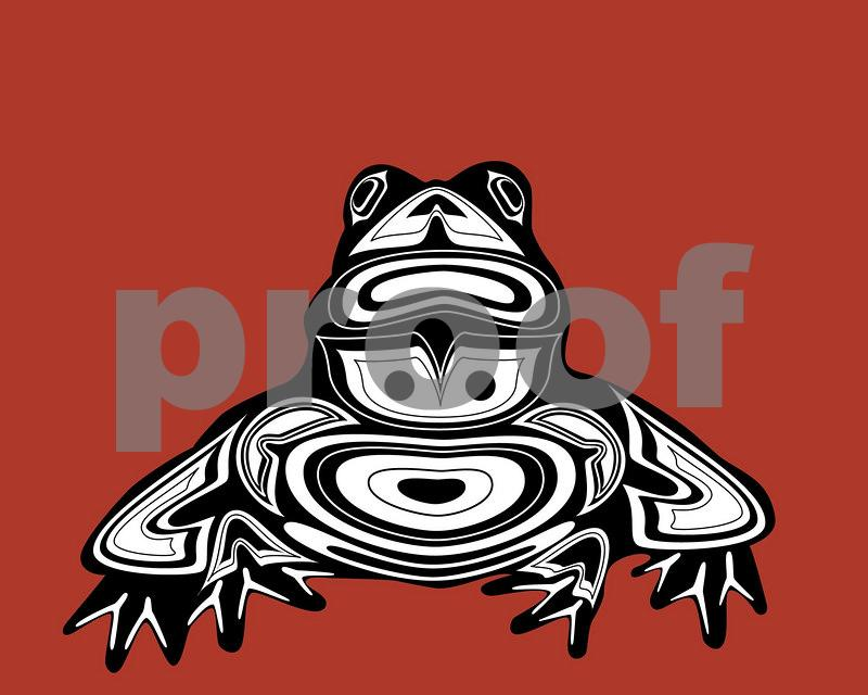 Frog: Pacific Northwest Indian Art by John Longfellow