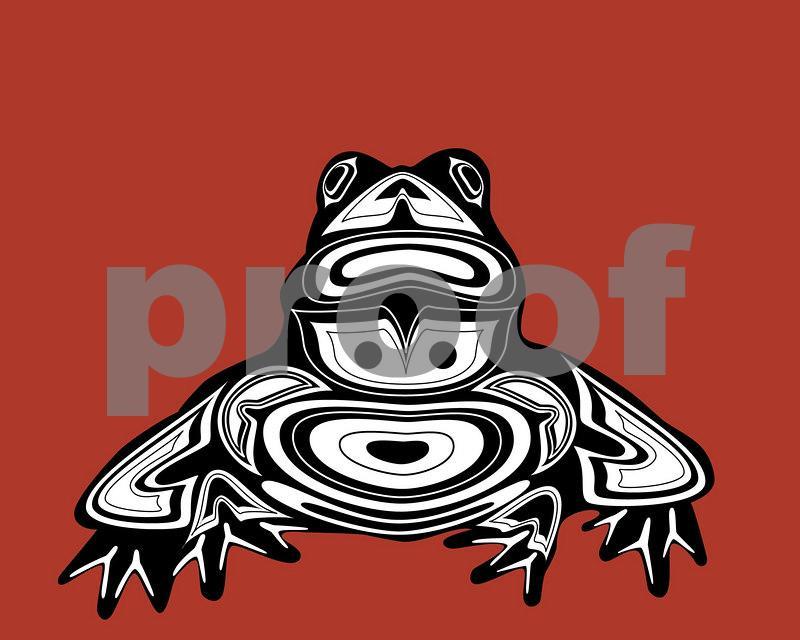 Frog: Pacific Northwest Indian Art by John Longfellow