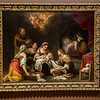 """Bartolome Esteban Murillo (Spanish, 1617 - 1655)<br /> <br /> The Birth of St. John the Baptist, c. 1655<br /> Oil on Canvass<br /> <br /> Bartolome Esteban Murillo, a native of Seville, was a generation younger than Francisco de Zurbaran and Diego Veazquez. Immensely popular throughout Spain and the rest of Europe, he was often called the """"Spanish Raphael"""" because of his idealized Madonnas and the softness and delicacy of his modeling. In The Birth of St. John the Baptist, the characters are portrayed naturalistically, yet also exhibit the innate grace and elegance consistent with Murillo's figures from the late 1640s on. His modeling is solid, but as the same time built up with various hues. This work displays both strong chiaroscuro (interplay of light and dark) and luminosity: the darks are not so opaque, the lights are strong and the colors are saturated."""