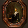 Gerrit Dou (Dutch, 1613 - 1675)<br /> <br /> Portrait of a Woman, c. 1640 - 1664<br /> Oil on panel<br /> <br /> Gerrit Dou was one of Rembrandt's premier students in Leiden. Following Rembrandt's move to Amsterdam, Dou successfully established his own studio. His painting technique reflects certain early aspects of the master's style, particularly his use of chiaroscuro and color.<br /> <br /> This portrait is one of the few that Dou completed during his long career. He was discouraged from doing portrait commissions because contemporaries claimed that he did not capture good likenesses of his subjects. Dou was further accused of requiring his clients to sit too long and charging them exorbitant rates. Ultimately, he abandoned portrait painting.