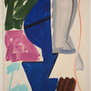 Patricia Trieb:  Garb, 2012, oil on canvas, 66 x 50 inches.