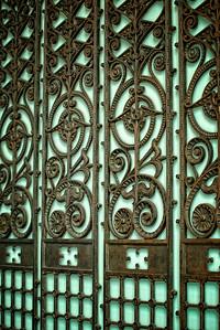 Beautiful wrought iron design