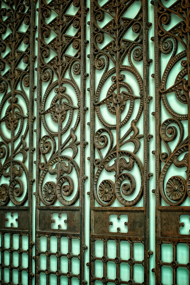 Beautiful wrought iron design