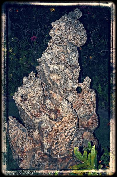 Maui Wood Carving