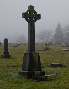 This graveyard in Sapperton, New Westminster is home to some very old gravestones.  Unfortunately, they are also showing a lot of wear and tear.
