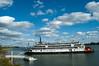 Delta Queen docked at Grandview, IN - October 2008