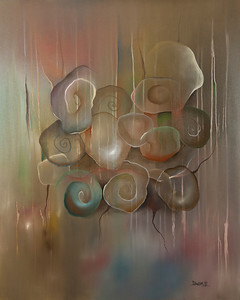 Shells oil on Canvas Price $1200.00