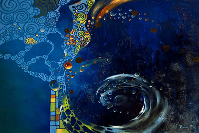 """Sea Dreams"" 2012 / 30X24 Oil on Canvas Price $1100.00"