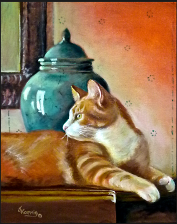 """Ginger Cat, Ginger Jar"""