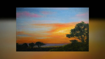 Sunset Paintings-Aug 2012