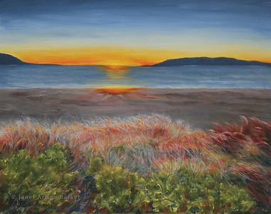 Maine Fall Sunrise-