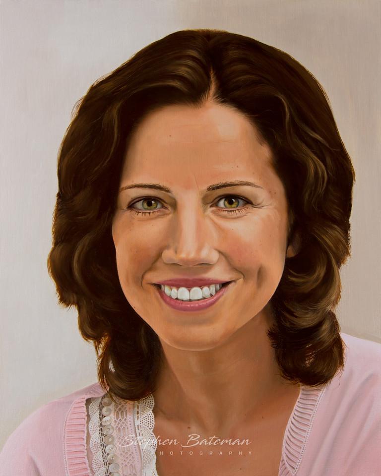 Lisa, oil on canvas