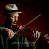 Colin, violinist, Colombari, oil on linen