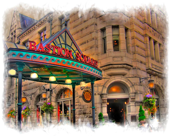 Bastion Square Gateway in Victoria BC