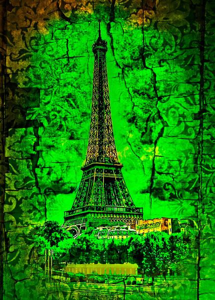 Eiffel in lace