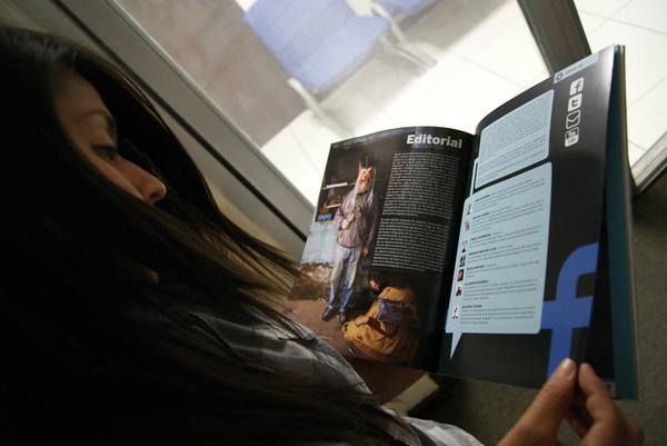 """One of my photos about machismo was published in a photo magazine.<br /> """"La membrana"""""""