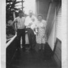 This was taken at my first birthday party. Left to righ are my uncle Ken, Grandpa Arden Paul and Grandma Merle Campbell