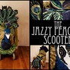 Peacock Scooter