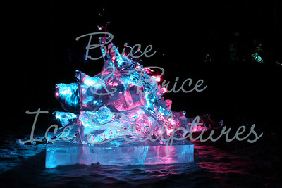 Junior Championships World Ice Art 2nd place, Madi Brown, Josh Lundy 'Something I stepped on'