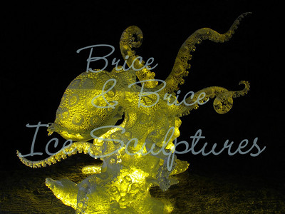 'Blue Ring Octopus' World Ice Art Championships' 2010, 1st Place and Artist's Choice, Heather Brice and Junichi Nakamura