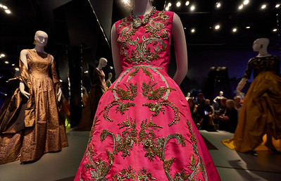 San Francisco   May 24, 2016 - Tuesday - De Young Museum / Oscar de la Renta special exhibit   Credit- Robert Altman