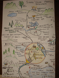 Sarah's Truckee Map