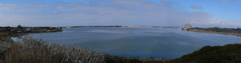 This is a view of Estero Bay near Los Osos and Morro Bay (11 shots)