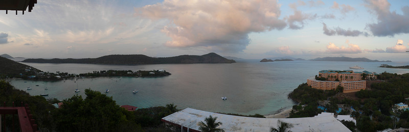 This is a view from our hotel room on St. Thomas in the U.S. Virgin Islands (13 shots)