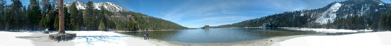 This is a 360 degree view from the shores of Emerald Bay (15 photos total)
