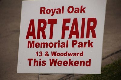 Outdoor Art in Royal Oak 2015