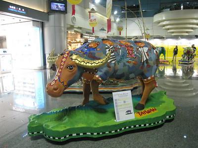 Ox exhibition -Taipei Airport April 2009