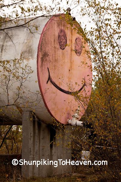 Big Smiley Face, Buffalo County, Wisconsin