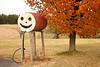 Smiley Face Gas Tank, Vernon County, Wisconsin