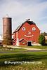 Barn with Happy Face, Winnebago County, Illinois