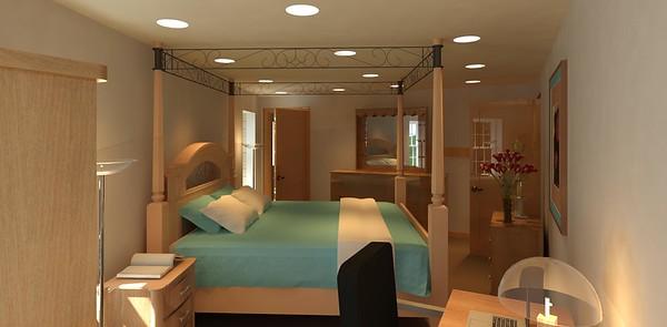 Aleck's-Guestroom FRM PatioDR