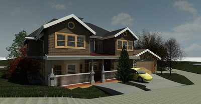 Approach - Modified, Roof, Porch and Obs Dck Window wall