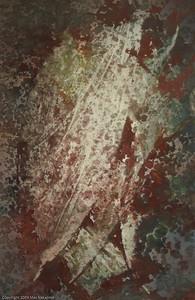 """Forest: November, 4/2006; 24""""x16"""", oil on panel"""