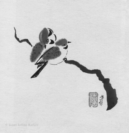 Paintings: Japanese Style on Rice Paper