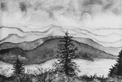 WHITEFISH LAKE-PAINT