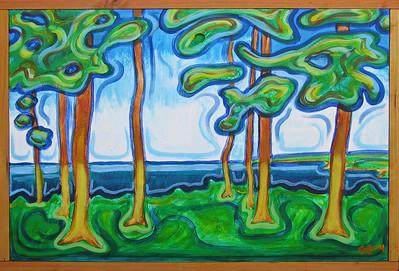 Acrylic on fiberglass, 2004