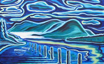Acrylic on wood, 2005