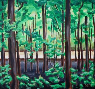 Acrylic on canvas, 2008