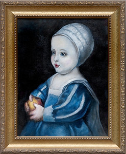 Reproduction - Anthony Van Dyke (1599-1641), 11 x 14 oil on stretched canvas.  $210 unframed, $250 framed