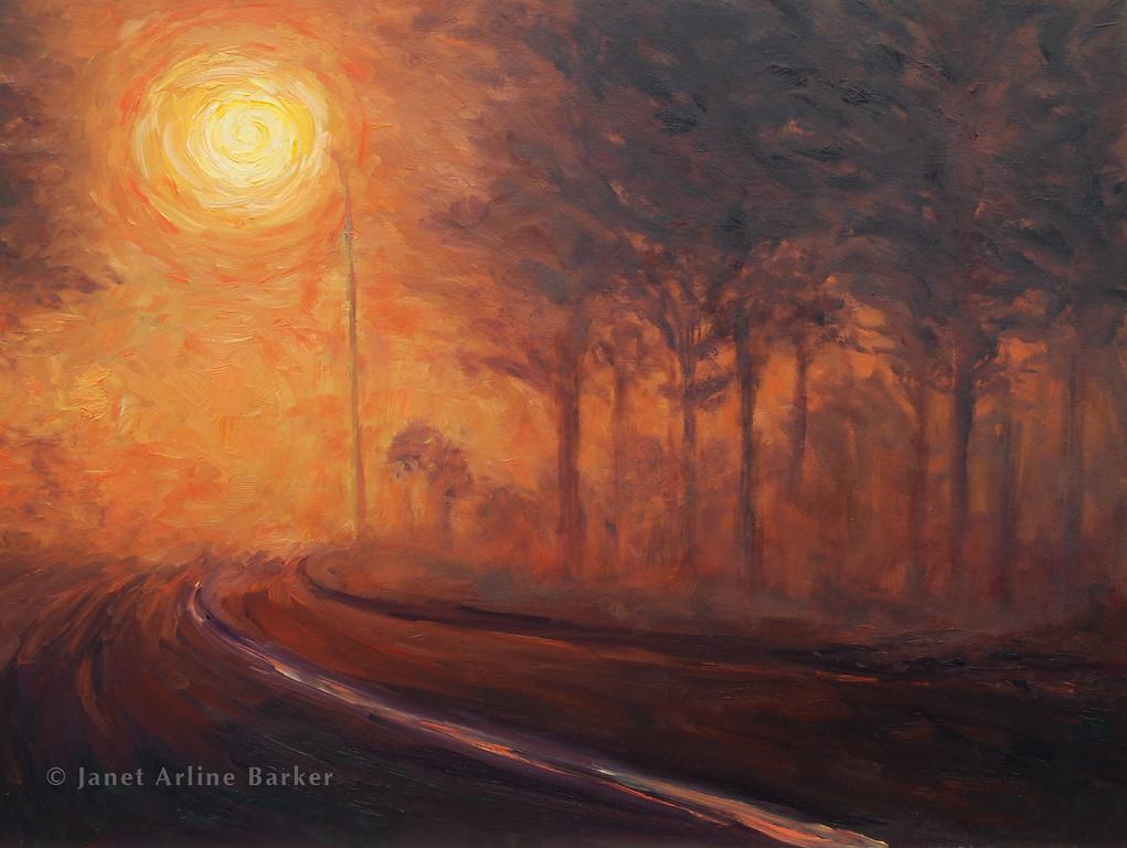 Night Fog Painting-2