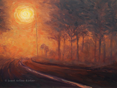 Night Fog Painting-2