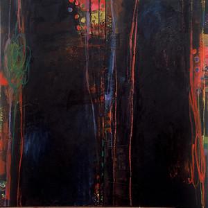 Opaline Dream, No.3; 56in x 56in