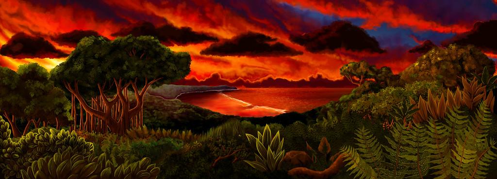 Maisa - Film Animation Backgrounds