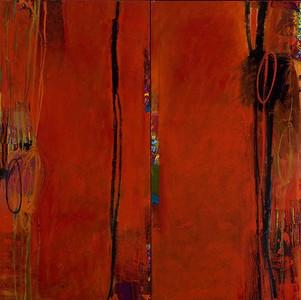Opaline Dream, No.1; 56in x 56in